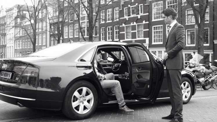 Uber in Amsterdam
