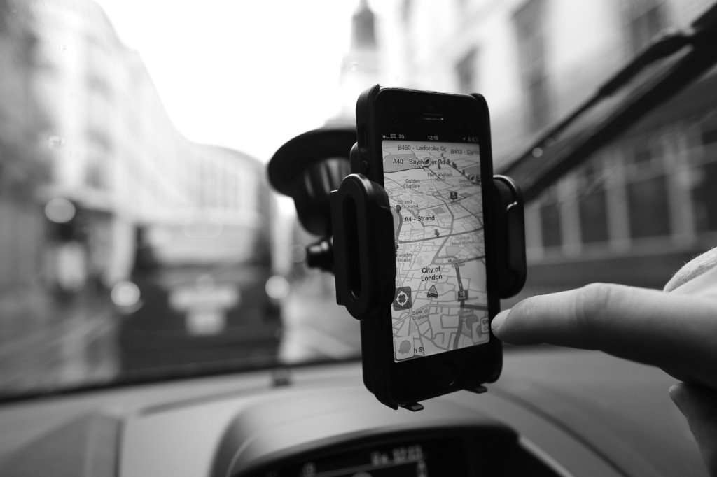 Smart technology apps for transportation