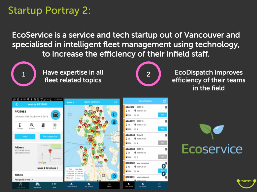 ecoservice carsharing shuttling and cleaning