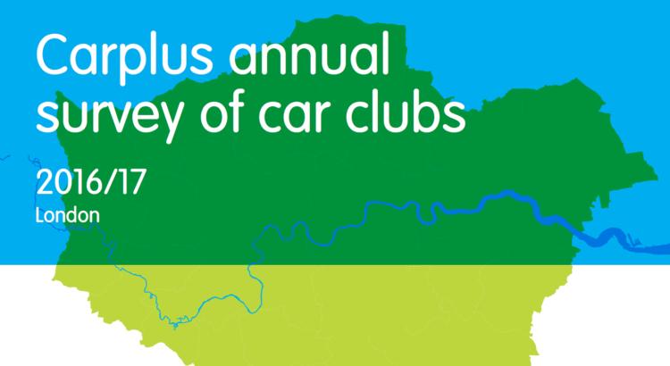 Carplus annual survey of car clubs