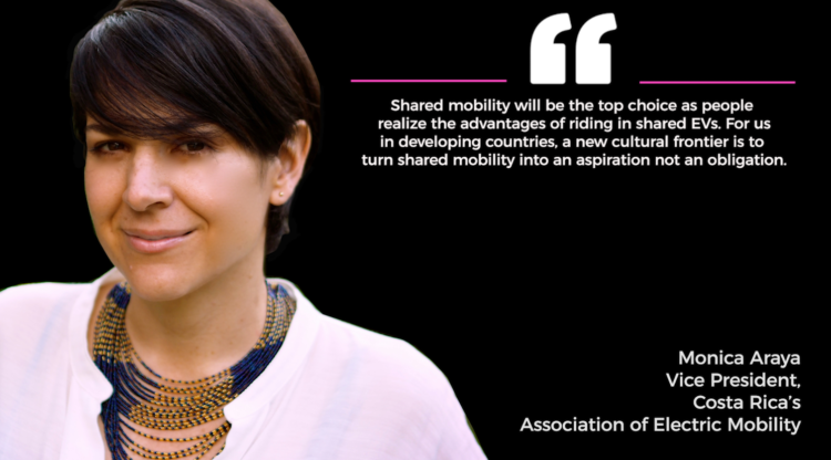 women in shared mobility