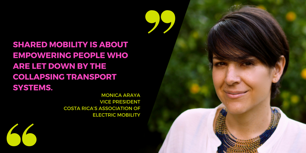 MONICA ARAYA women in shared mobility