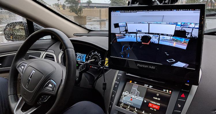 phantom auto CES 2018