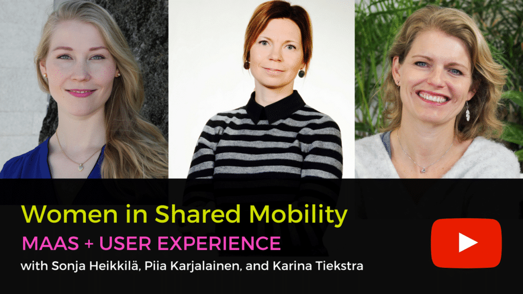 Women in Shared Mobility - mobility as a service MaaS