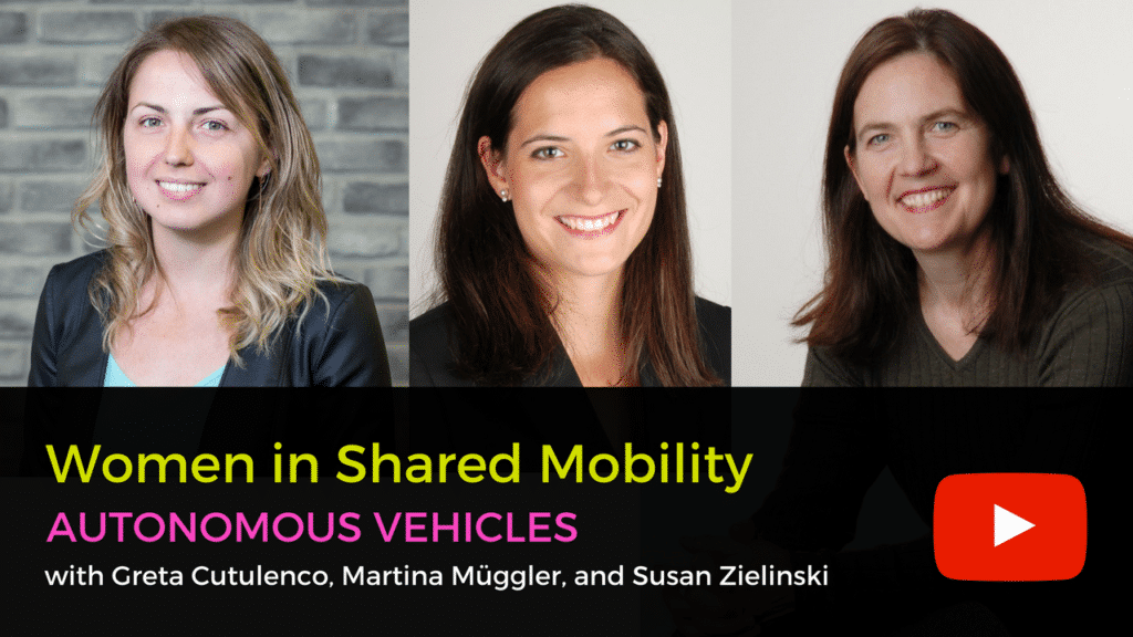 Women in Shared Mobility: Autonomous Vehicle Insights