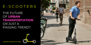 E-SCOOTER sharing