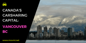carsharing in Vancouver
