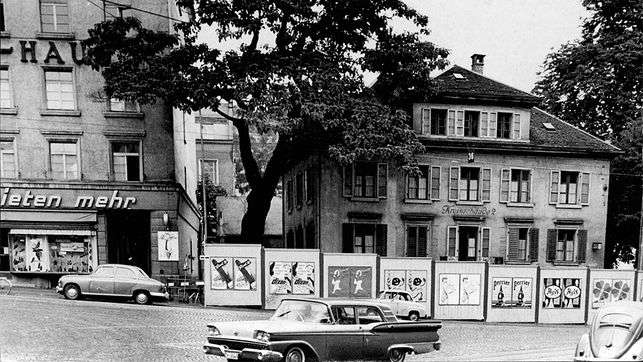 carsharing history - zurich 1948