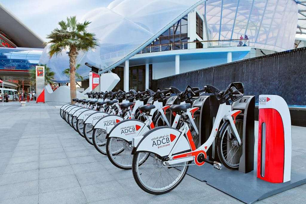 Bikesharing abu dhabi
