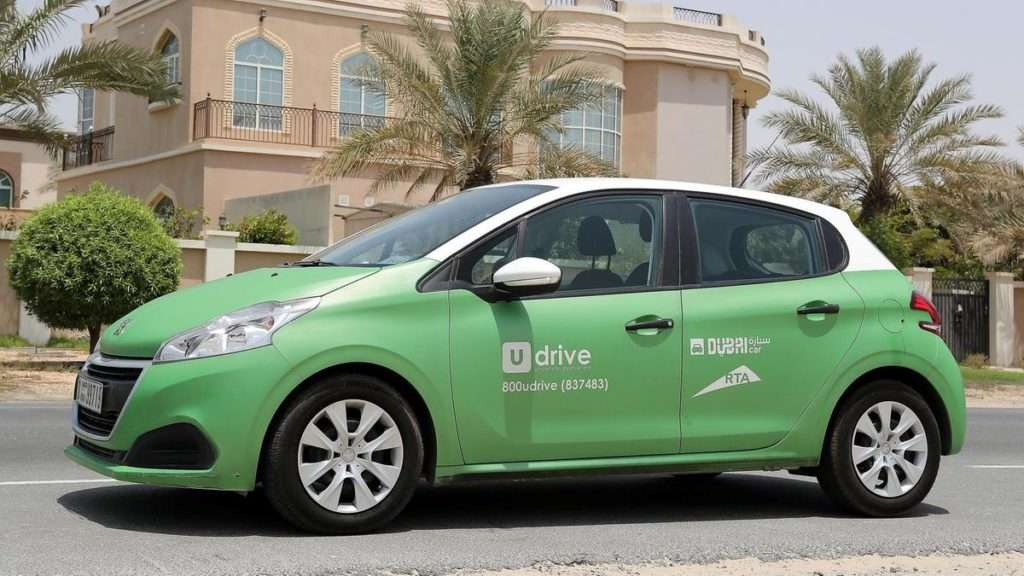 middle east shared mobility udrive