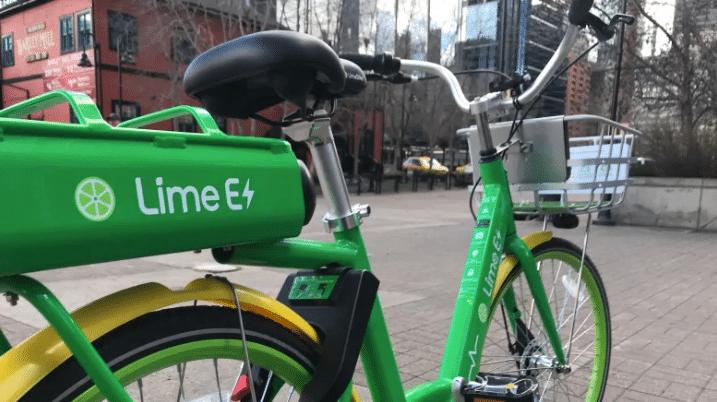 lime bike calgary