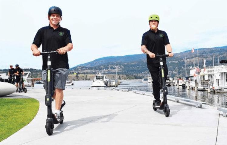 e-scooters B.C