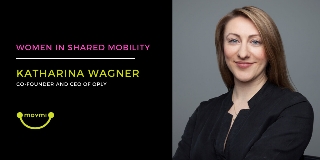 Women in Shared Mobility: Interview With Katharina Wagner of Oply