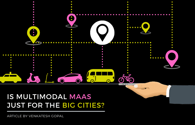 Is multimodal MaaS (integrated shared mobility) just for the BIG cities?